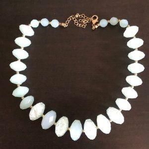 Park Lane light blue statement necklace